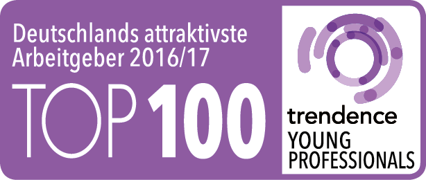 TOP100 | trendence Young Professionals
